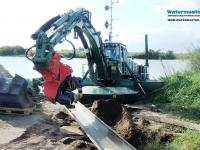 Multipurpose Watermaster helps keeping waterways and shores in good condition, Tanzania