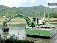 Watermaster Dredger keeping freshwater reservoirs in good condition