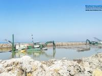 Watermasters Dredging to improve the environmental condition of the Northern lakes in Egypt
