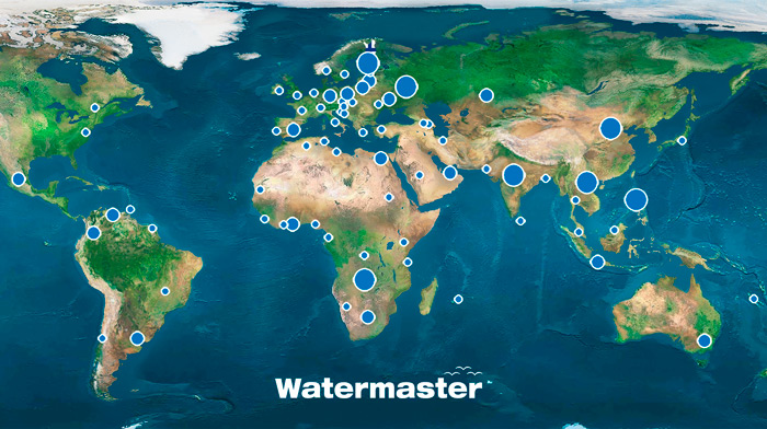 Watermaster sites worldwide
