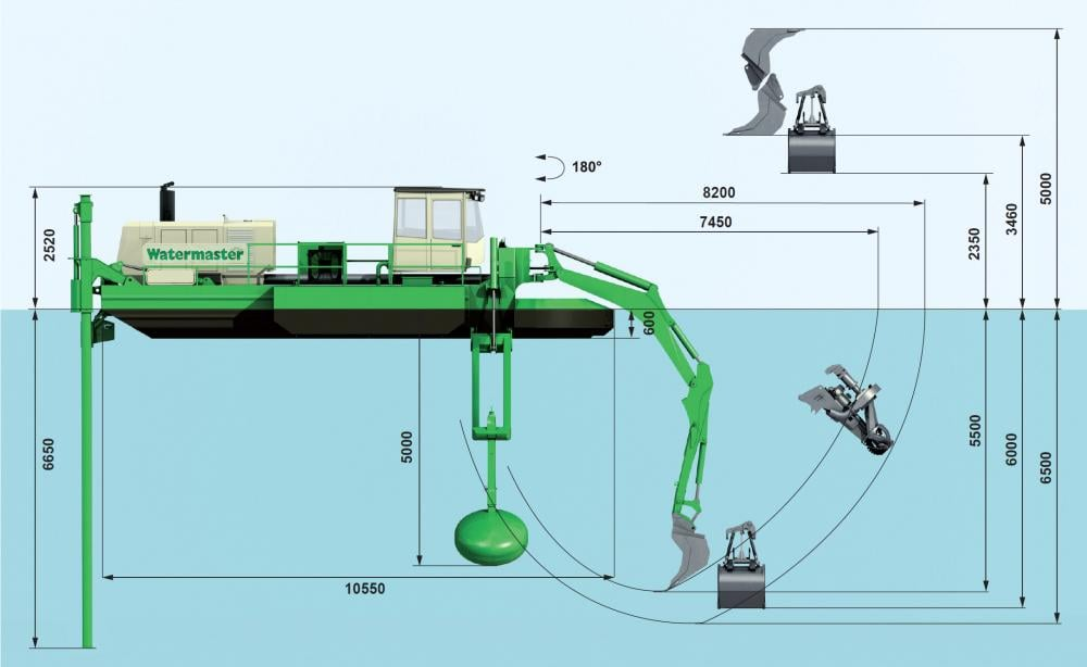 Watermaster technical drawing